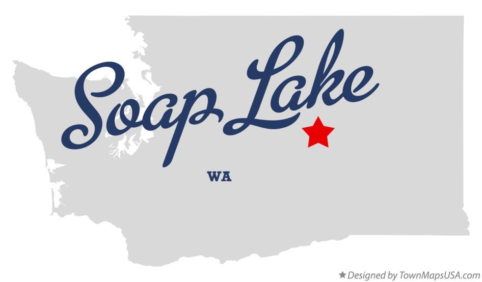 soap lake wa map Map Of Soap Lake Wa Washington soap lake wa map