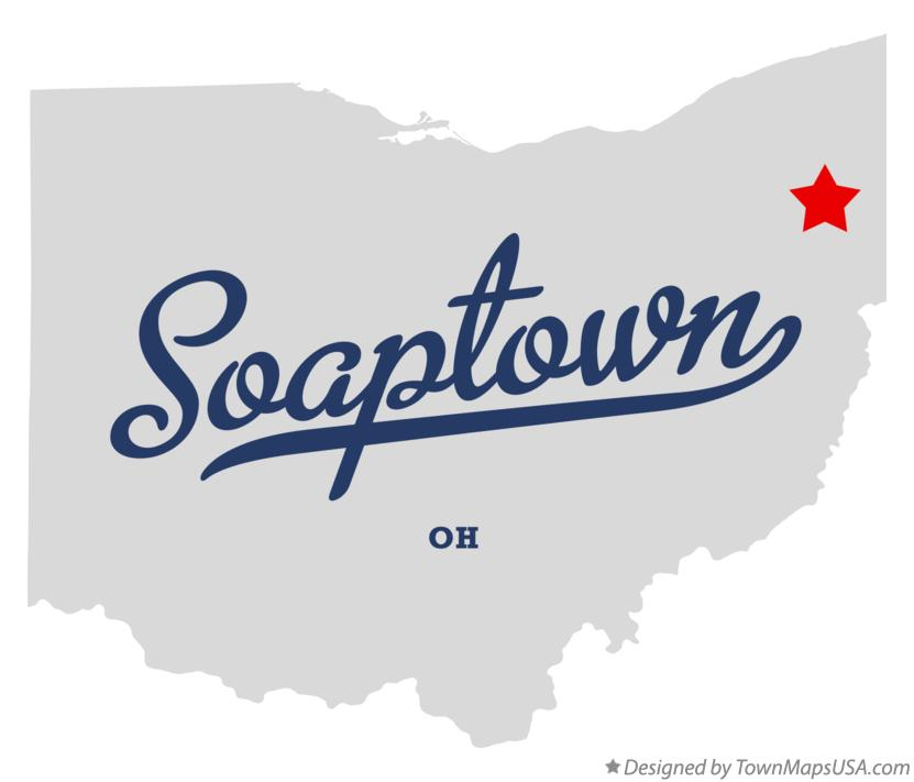 Map of Soaptown Ohio OH