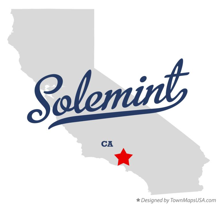 Map of Solemint California CA