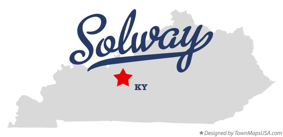 Map of Solway Kentucky KY