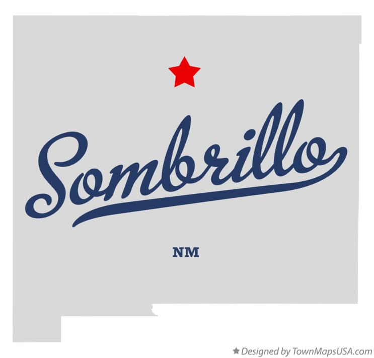 Map of Sombrillo New Mexico NM