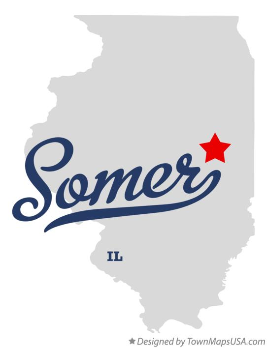 Map of Somer Illinois IL