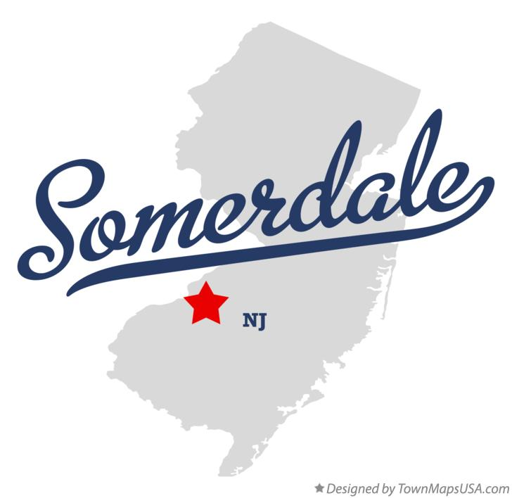 Map of Somerdale New Jersey NJ