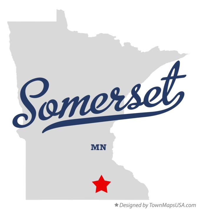Map of Somerset Minnesota MN