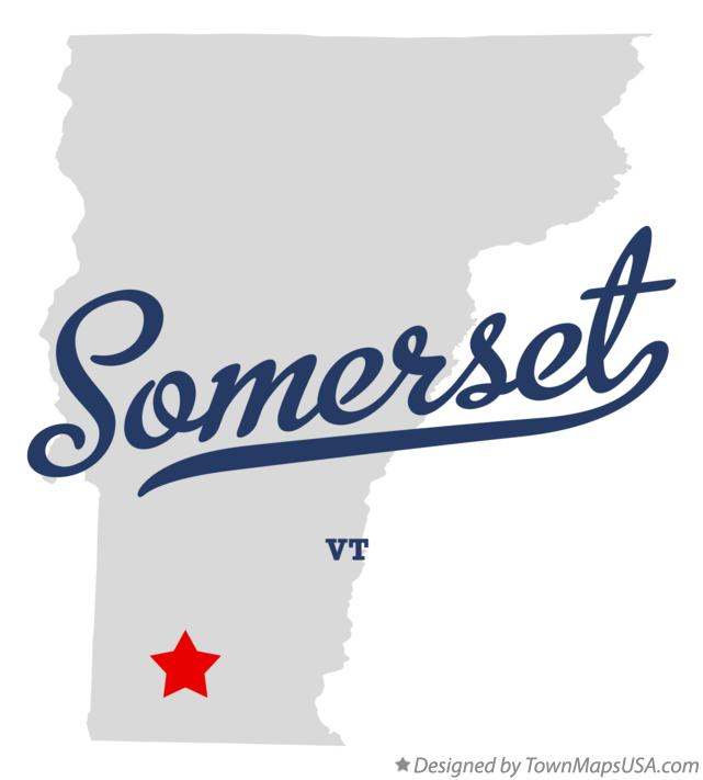 Map of Somerset Vermont VT