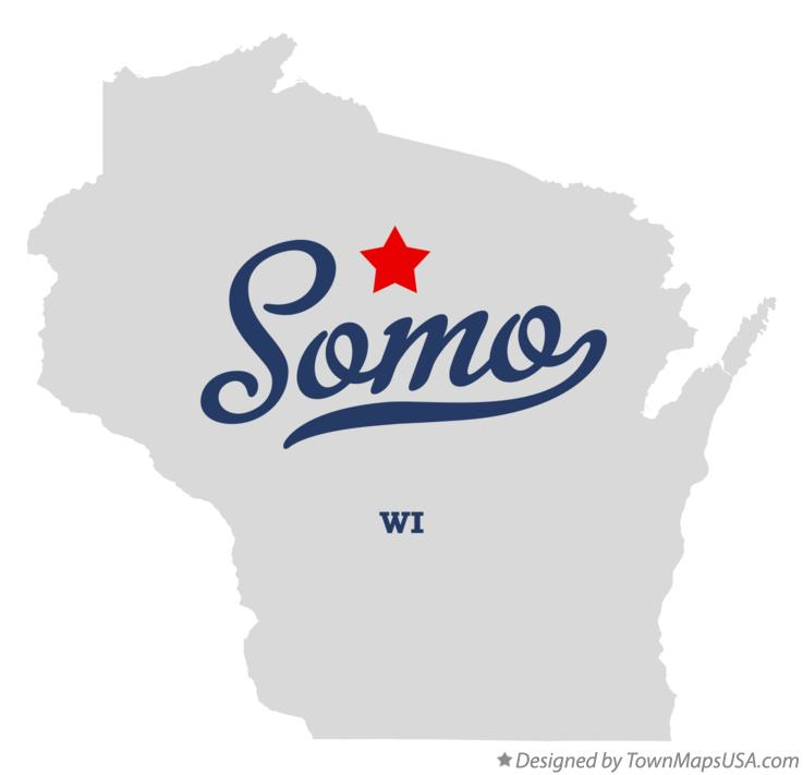 Map of Somo Wisconsin WI