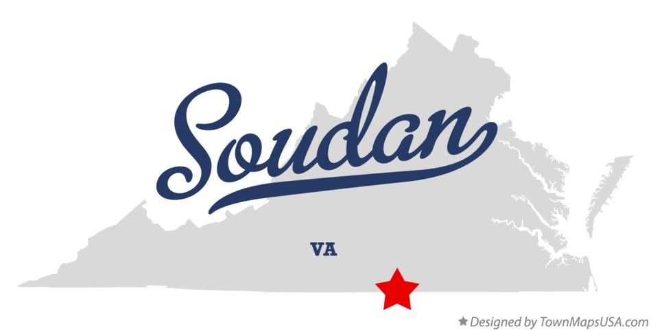 Map of Soudan Virginia VA