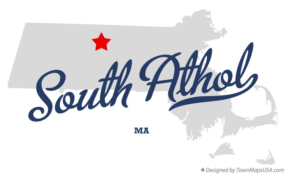 Map of South Athol Massachusetts MA
