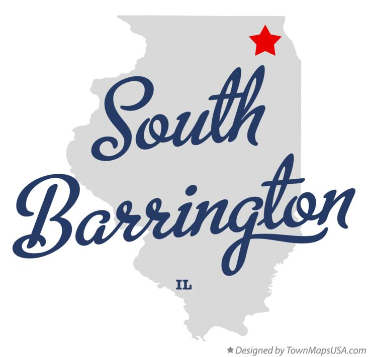 Map of South Barrington Illinois IL