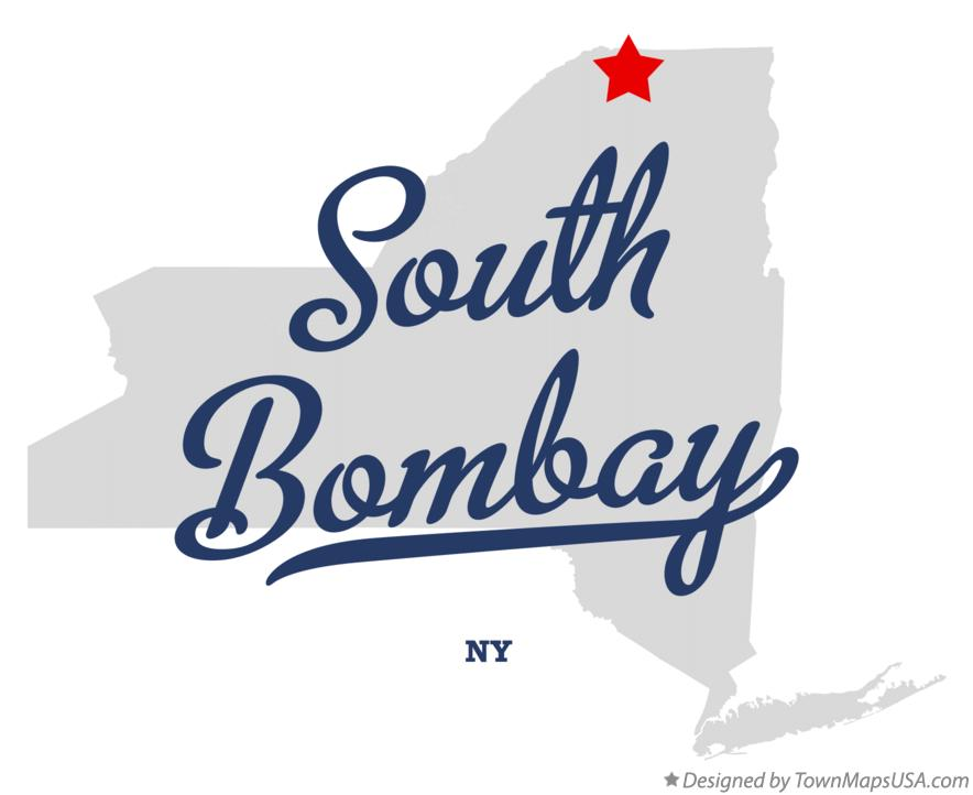 Map of South Bombay New York NY