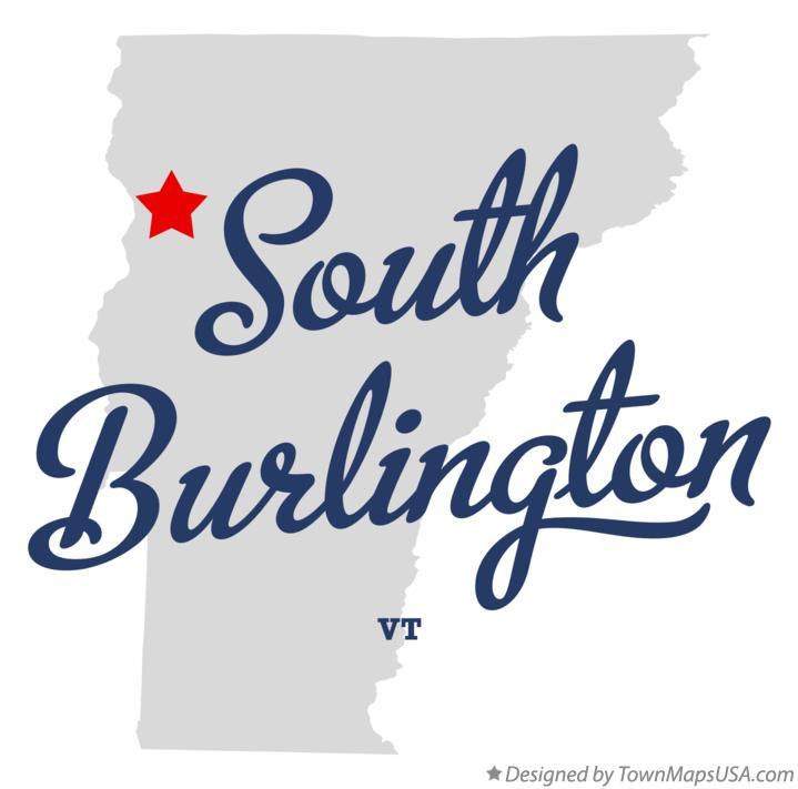 South Burlington: Map Of South Burlington, VT, Vermont