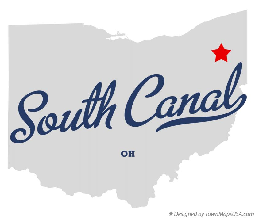 Map of South Canal Ohio OH