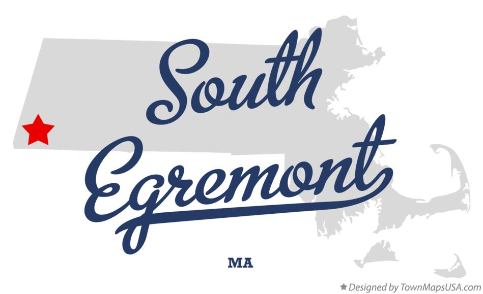 Map of South Egremont Massachusetts MA