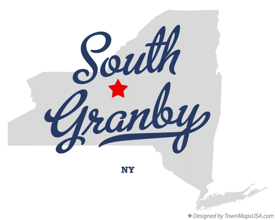 Map of South Granby New York NY