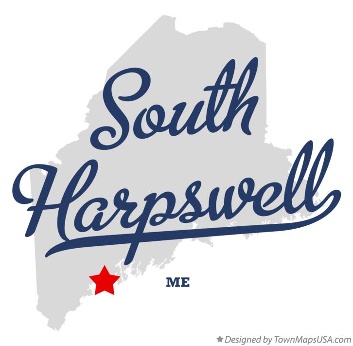 Map of South Harpswell Maine ME
