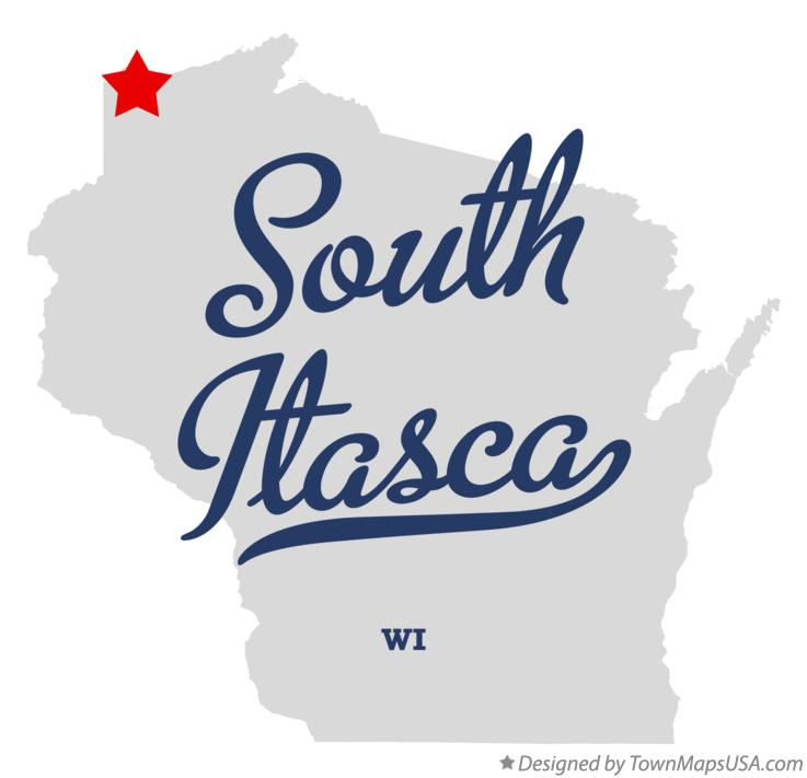 Map of South Itasca Wisconsin WI