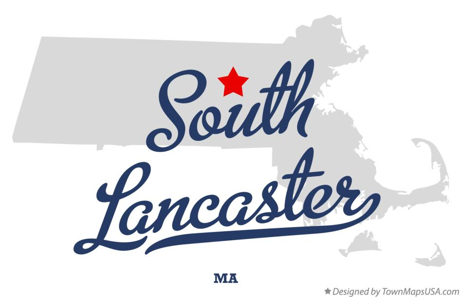 Map of South Lancaster Massachusetts MA