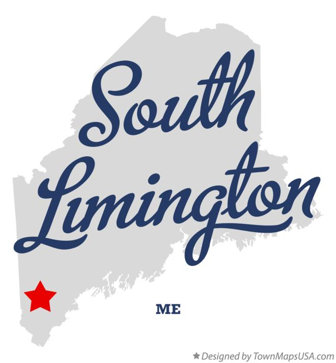 Map of South Limington Maine ME
