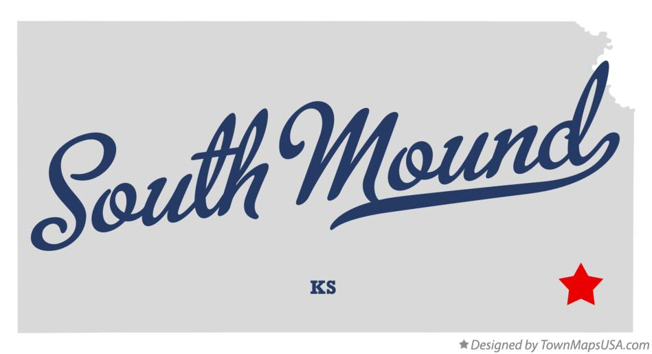 Map of South Mound Kansas KS