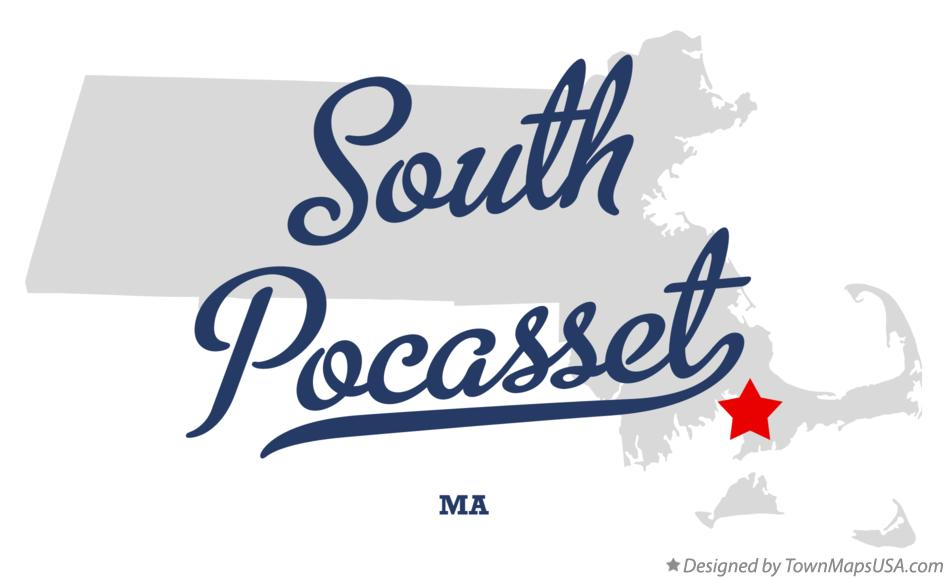 Map of South Pocasset Massachusetts MA