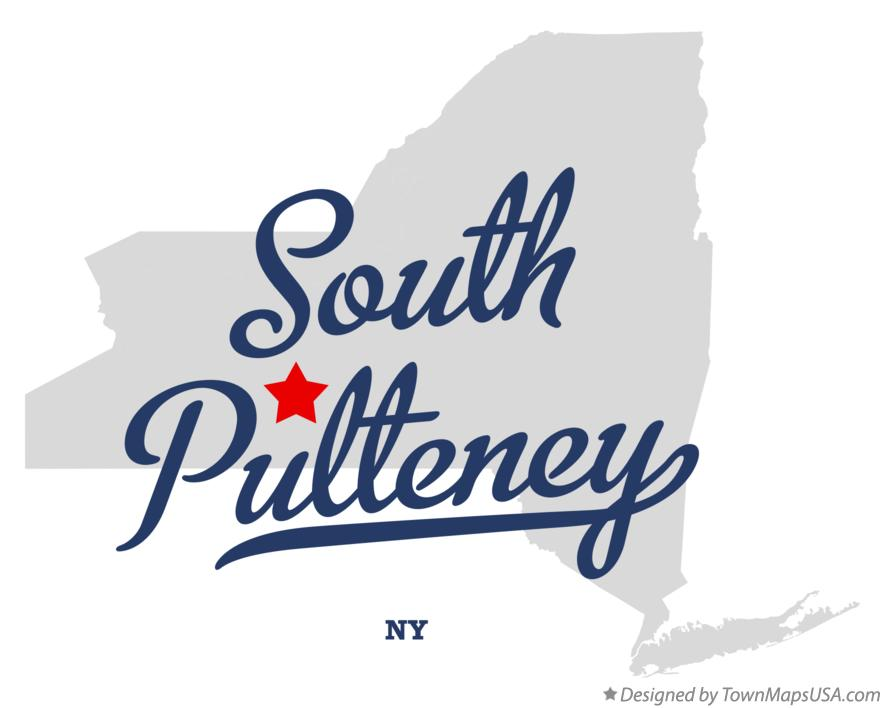 Map of South Pulteney New York NY