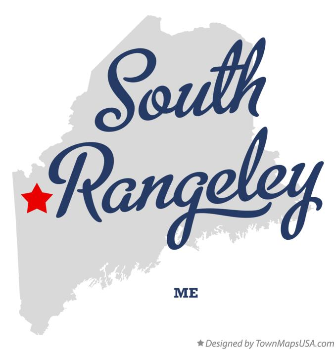 Map of South Rangeley Maine ME