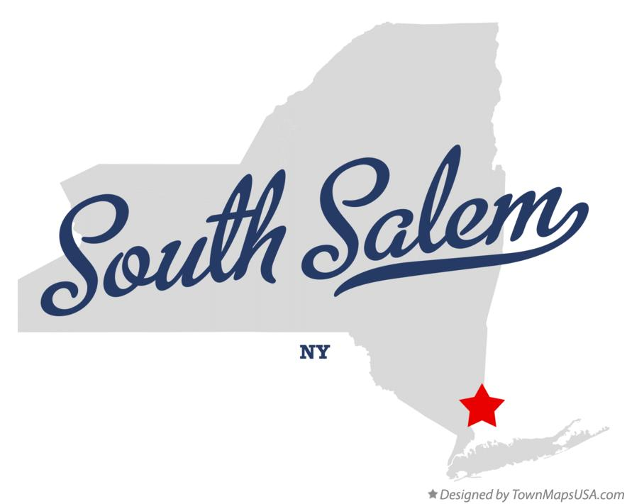 Salem New York Map.Map Of South Salem Ny New York