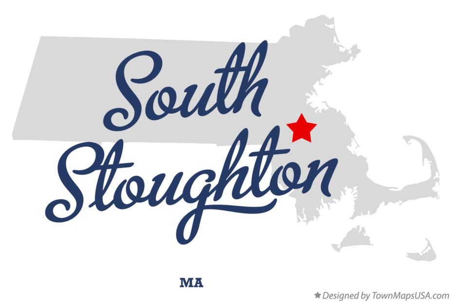 Map of South Stoughton Massachusetts MA