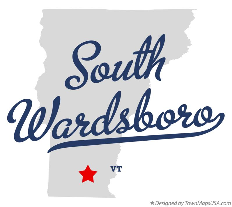 Map of South Wardsboro Vermont VT