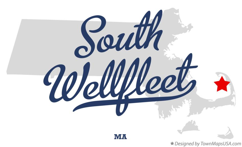 Map of South Wellfleet Massachusetts MA