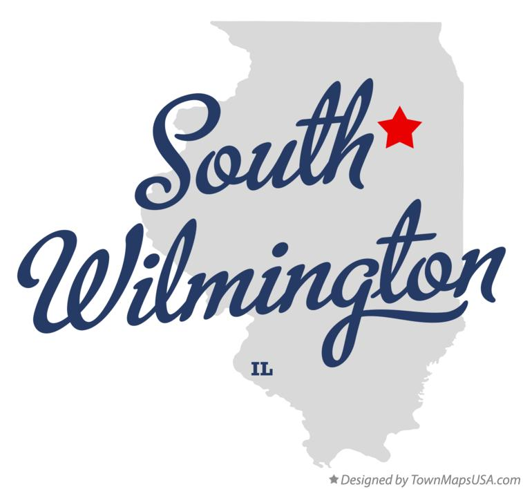 Map of South Wilmington Illinois IL