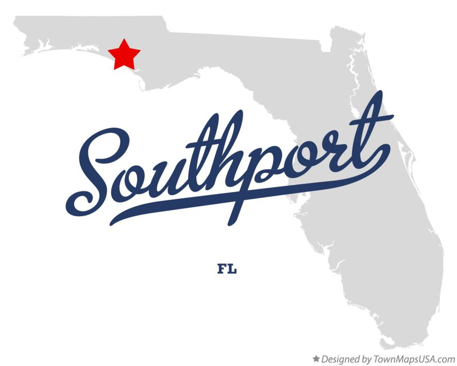 Map of Southport Florida FL