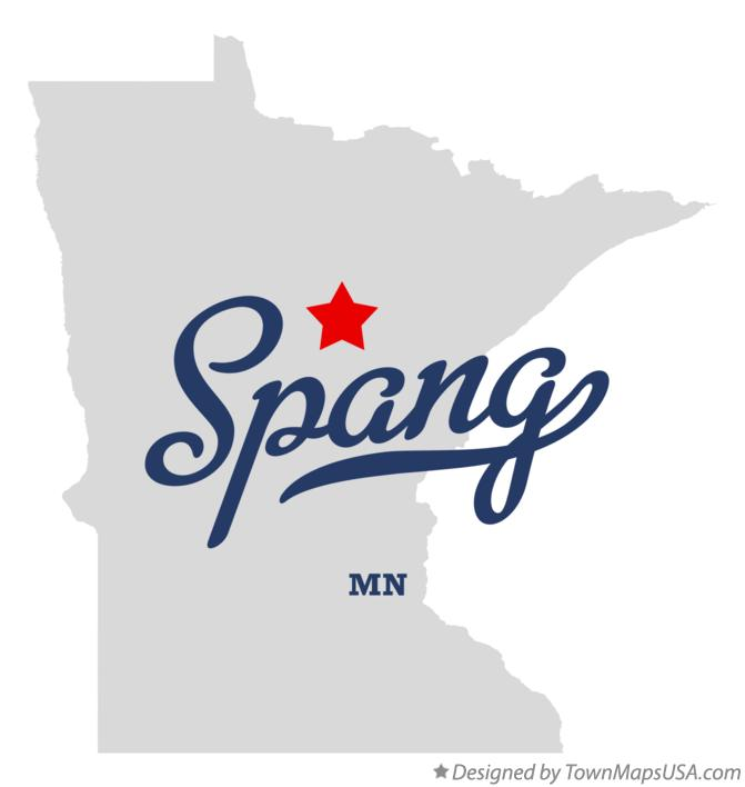 Map of Spang Minnesota MN