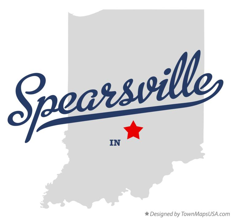 Map of Spearsville Indiana IN