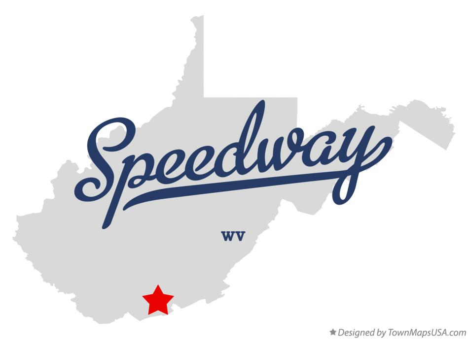 Map of Speedway West Virginia WV