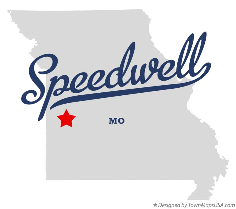 Map of Speedwell Missouri MO