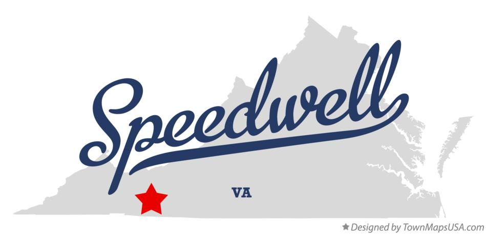Map of Speedwell Virginia VA