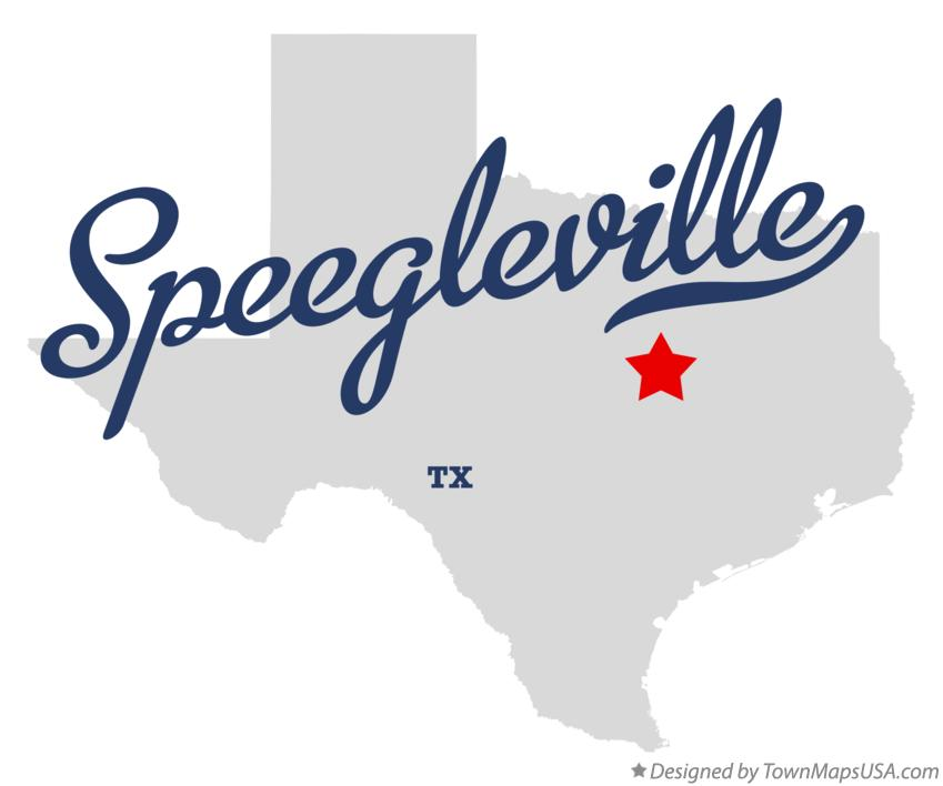 Map of Speegleville Texas TX