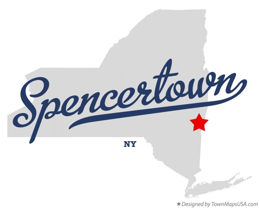 Map of Spencertown New York NY