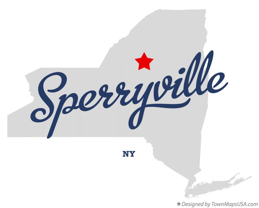 Map of Sperryville New York NY
