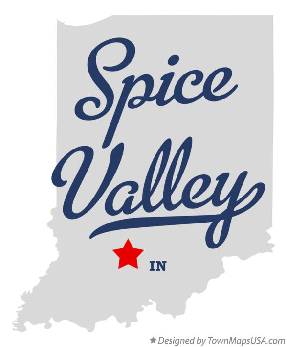 Map of Spice Valley Indiana IN