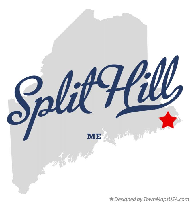 Map of Split Hill Maine ME