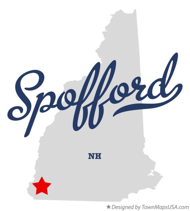 Map of Spofford New Hampshire NH