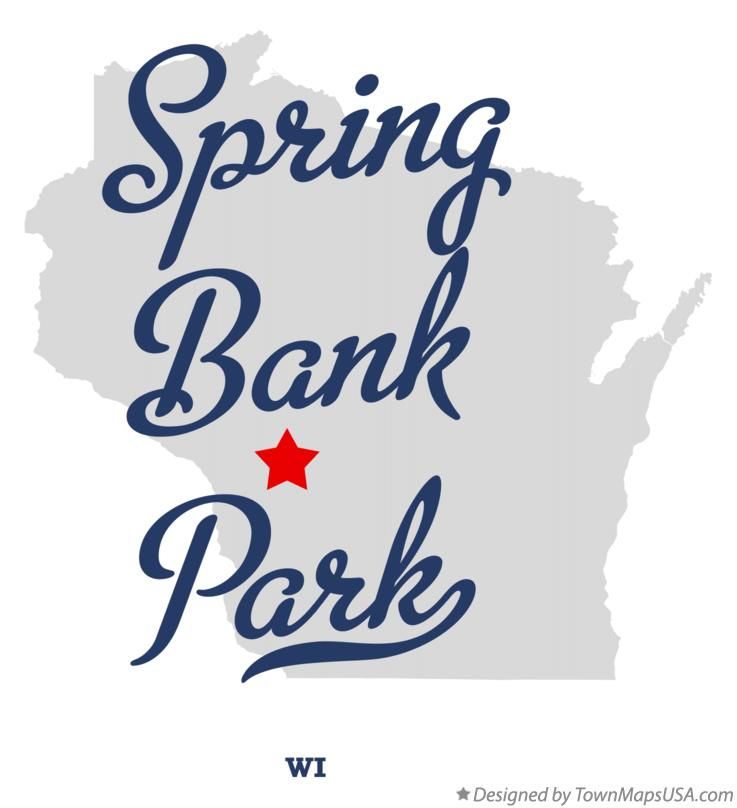 Map of Spring Bank Park Wisconsin WI