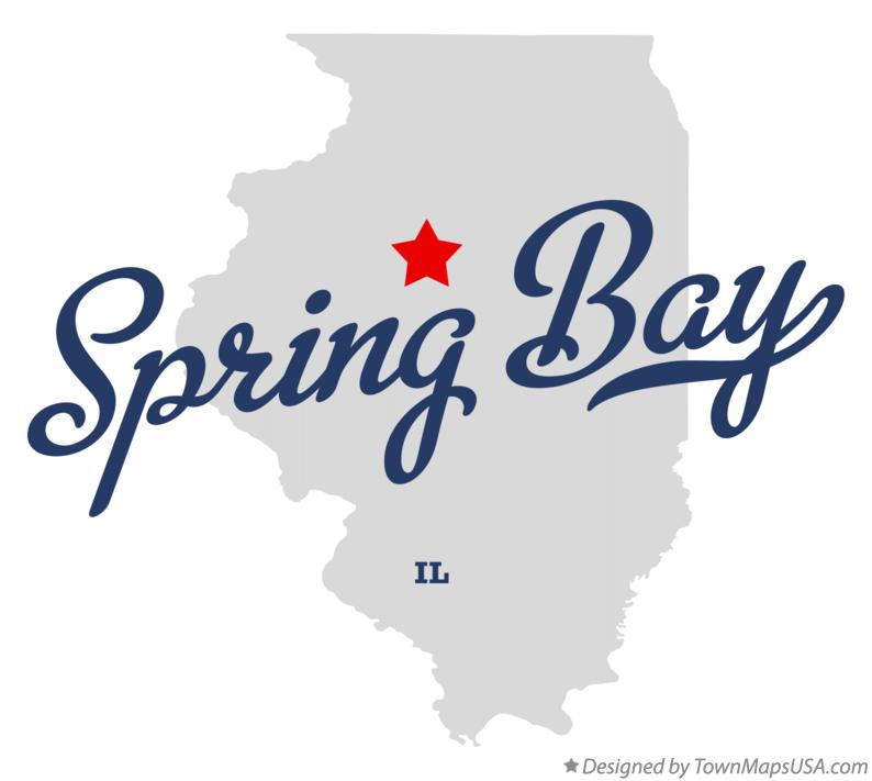 Map of Spring Bay Illinois IL