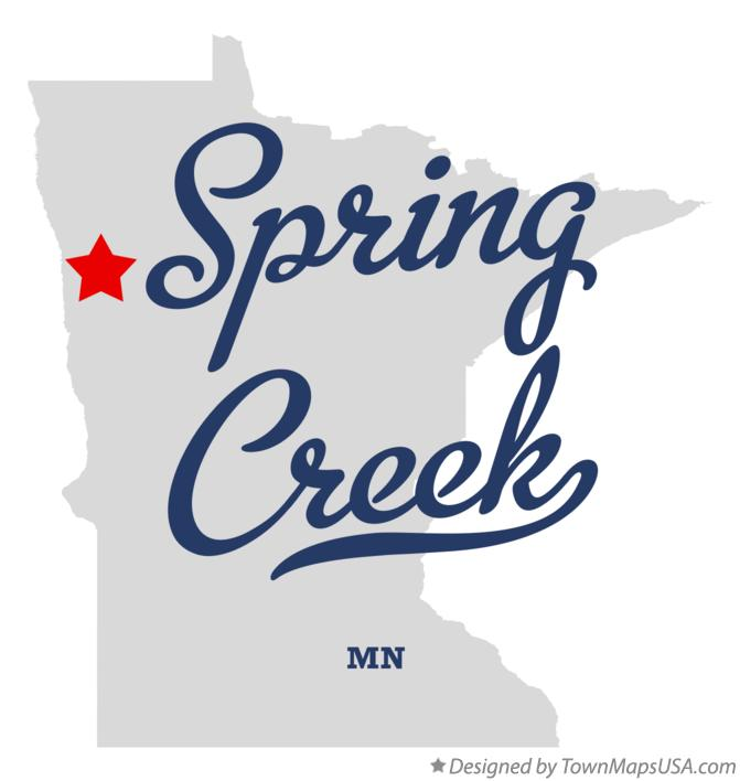 Map of Spring Creek Minnesota MN
