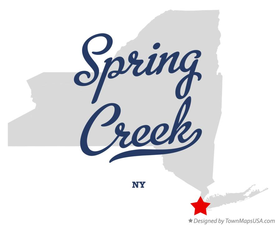 Map of Spring Creek New York NY