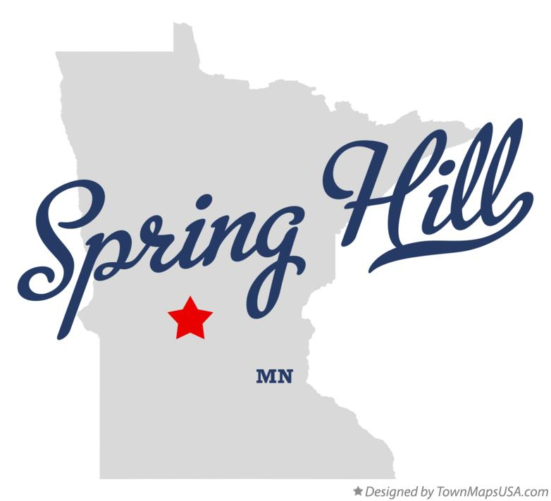 Map of Spring Hill Minnesota MN