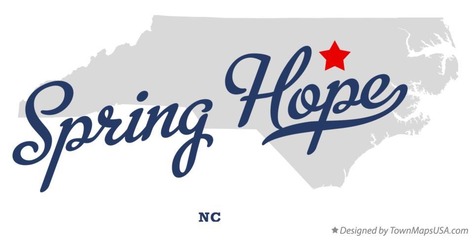 spring hope nc map Map Of Spring Hope Nc North Carolina