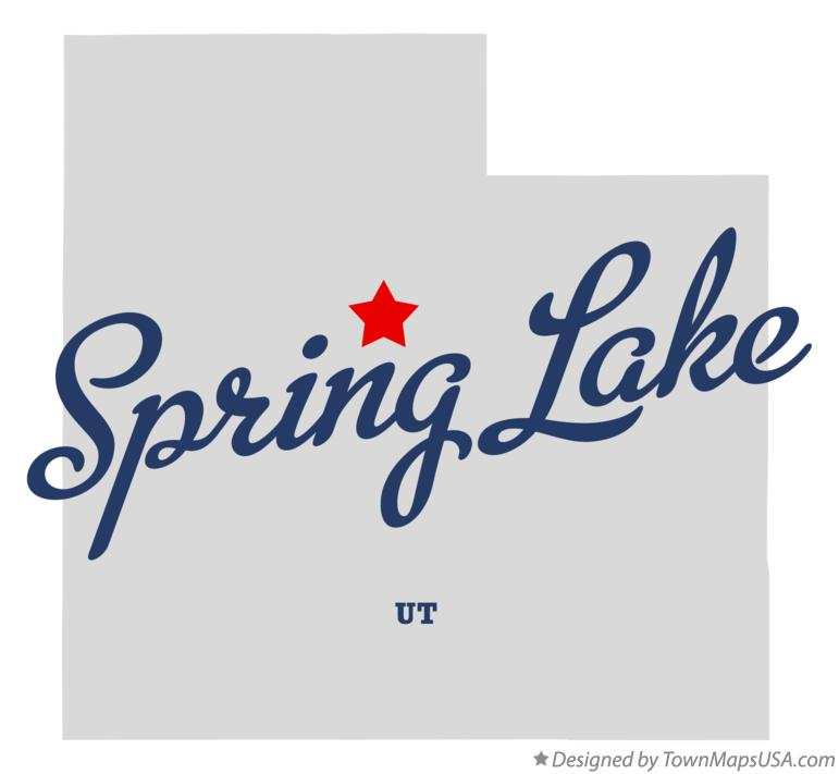 Map of Spring Lake Utah UT